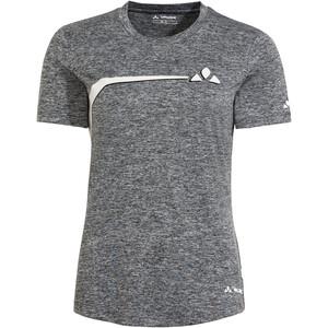 VAUDE Bracket T-Shirt Women, grijs/zwart grijs/zwart