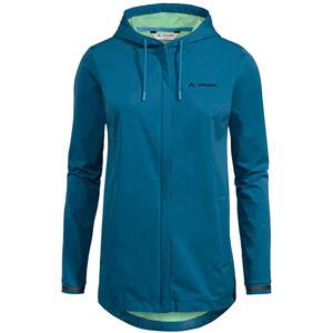 VAUDE Cyclist II Softshell Jacke Damen blau blau