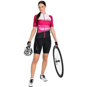 VAUDE Majura II FZ Tricot Women pink/vit pink/vit