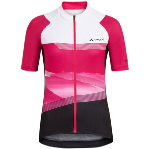 VAUDE Majura II Full-Zip Trikot Damen pink/weiß pink/weiß