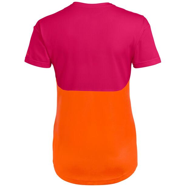 VAUDE Moab VI T-Shirt Women, orange/rose