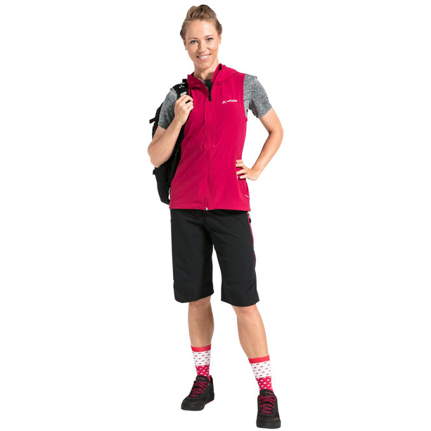 VAUDE Moab ZO Jacke Damen rot/pink