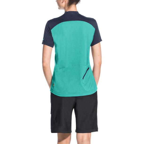 VAUDE Tremalzo IV Skjorte Damer, turkis/blå