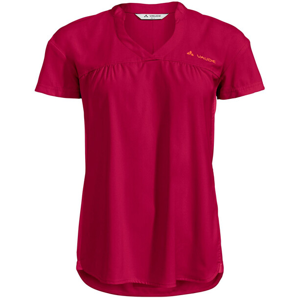 VAUDE Turifo Hybrid Shirt Damen crimson red uni