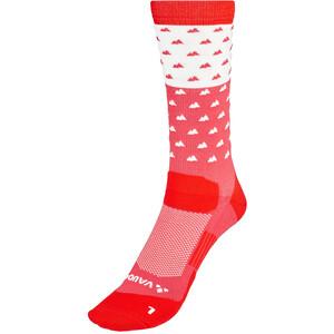 VAUDE Bike Chaussettes mi-hautes, rouge rouge