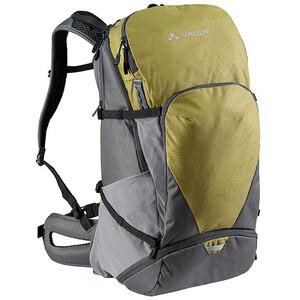 VAUDE Bike Alpin Pro 28 + Backpack, groen/grijs groen/grijs