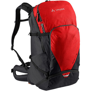 VAUDE Bike Alpin Pro 28 + Backpack, rouge rouge