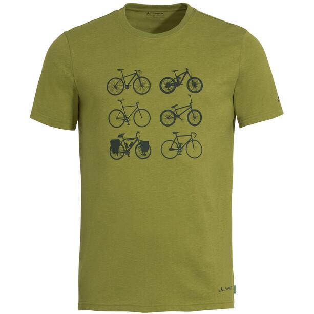 VAUDE Cyclist V T-Shirt Men, vert