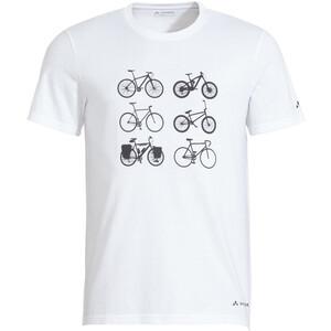 VAUDE Cyclist V T skjorte Herre Hvit Hvit