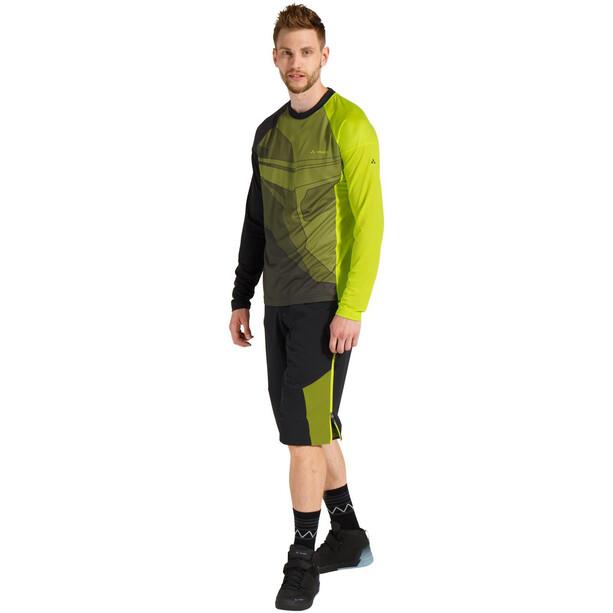 VAUDE Moab VI Langarm T-Shirt Herren grün