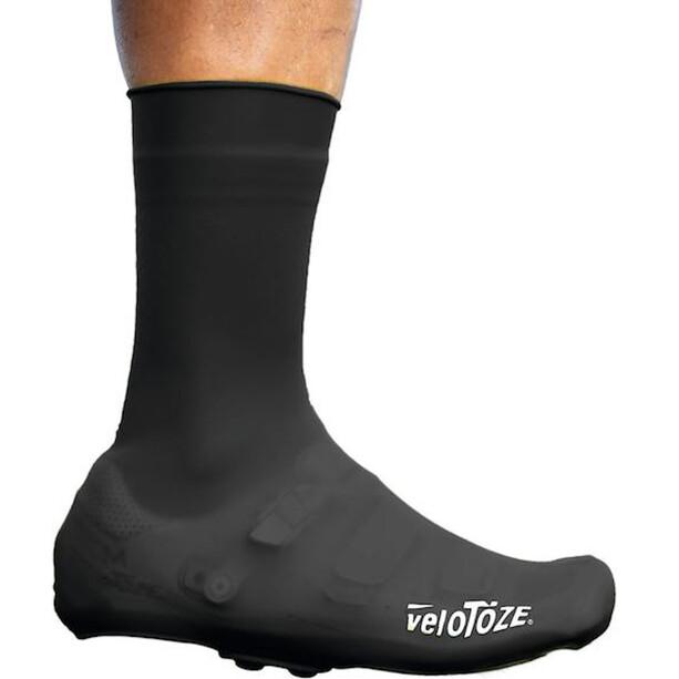veloToze Silicone Snap Overshoes Men, noir