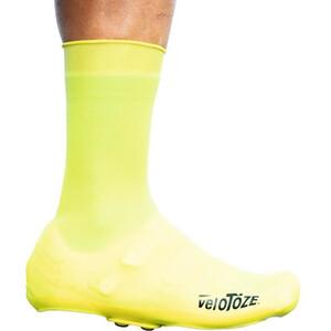 veloToze Silicone Snap Overshoes Men, jaune jaune