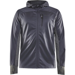 Craft Wind Fuseknit Jacket Men, asphalt/dark grey melange asphalt/dark grey melange