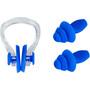CAMPZ Sæt ørepropper + næseclip, blå