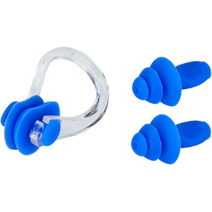 CAMPZ Set Ohrstöpsel + Nasenclip blau blau