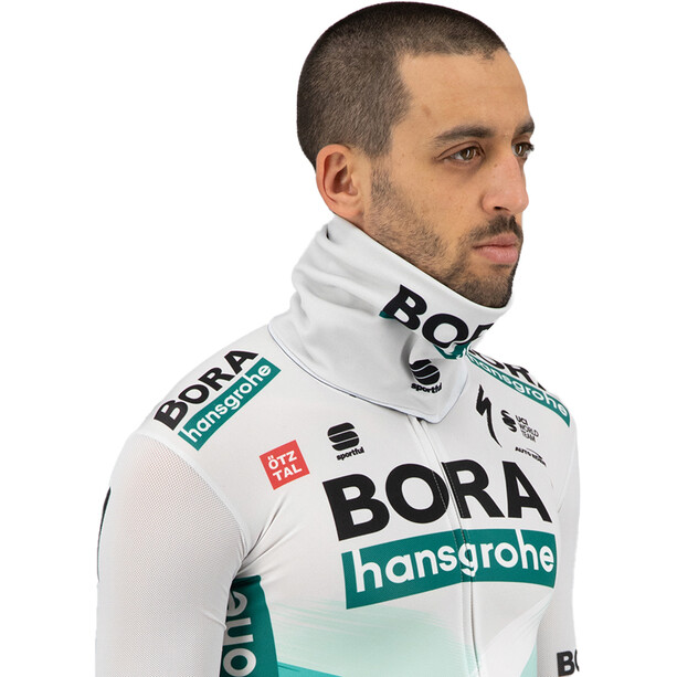 Sportful Team Bora-HG Neckwarmer, vert/gris