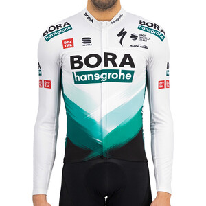 Sportful Team Bora-HG Bodyfit Thermal Langarm Trikot Herren green gray green gray