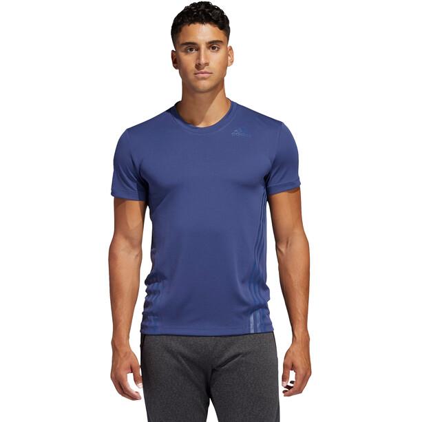 adidas Aeroready 3 Stripes SS T-Shirt Men, tecind