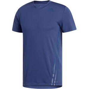 adidas Aeroready 3 Stripes Kurzarm T-Shirt Herren blau blau