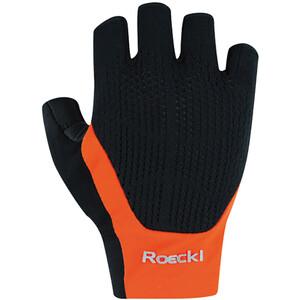 Roeckl Icon Gloves, noir/orange noir/orange