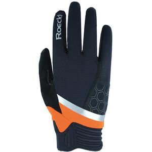 Roeckl Morgex Handsker, sort/orange sort/orange