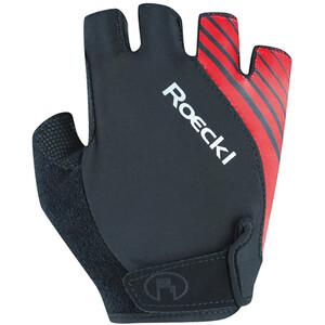 Roeckl Naturns Handschuhe schwarz/rot schwarz/rot