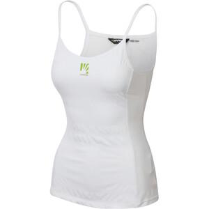 Karpos Bull Sun T-shirt zippé Femme, blanc blanc