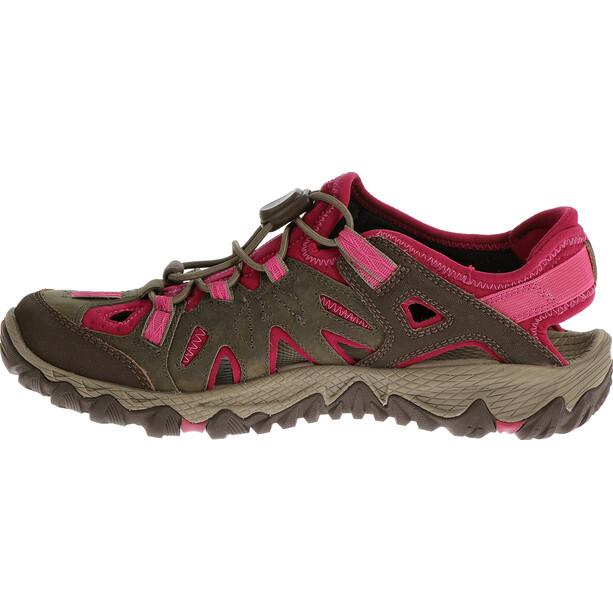 Merrell All Out Blaze Sieve Schuhe Damen boulder/fuchsia