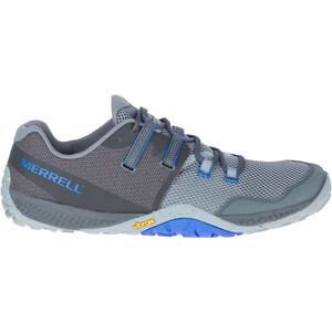 Merrell Trail Glove 6 Shoes Men, gris/azul gris/azul
