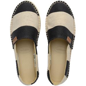 havaianas Espadrille Classic Flatform Plus Origine Mujer, negro/beige negro/beige