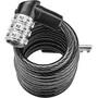 ABUS 3506C Spiral Cable Lock, black