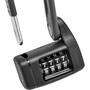ABUS Bordo Lite Mini 6055C/60 SR Folding Lock, noir