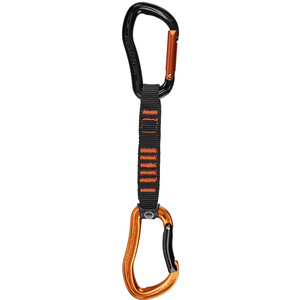 Wild Country Electron Sport Quickdraw 12cm, noir/orange noir/orange