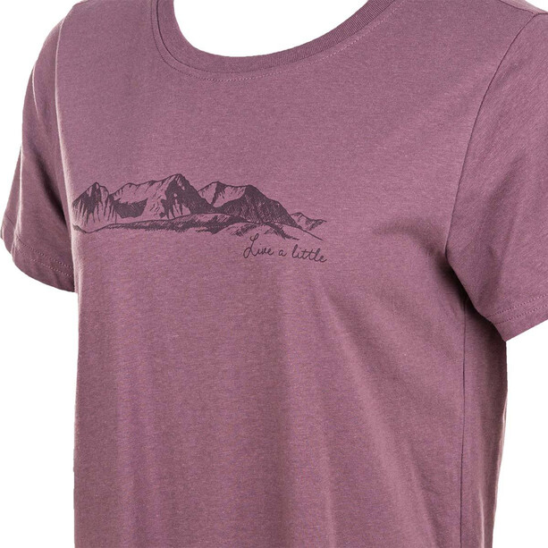 North Bend Radisson Kurzarm T-Shirt Damen lila