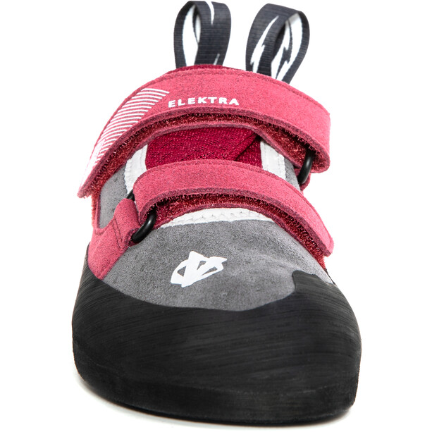 Evolv Elektra Climbing Shoes Women grey/merlot