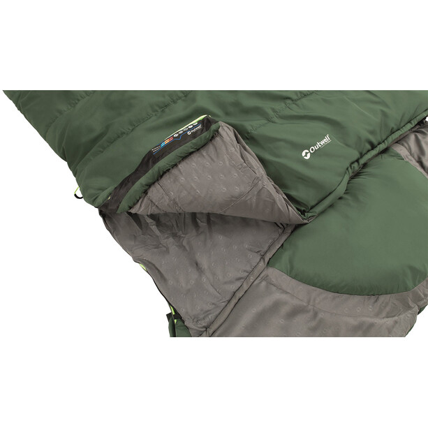 Outwell Contour Lux Sleeping Bag XL, green