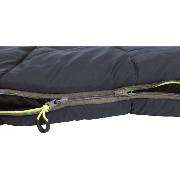 Outwell Contour Lux Sleeping Bag, deep blue