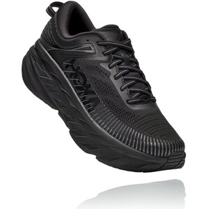 Hoka One One Bondi 7 Wide Running Shoes Women black/black black/black