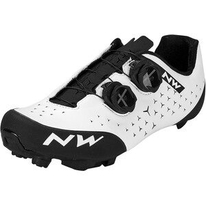 Northwave Rebel 2 Zapatillas Hombre, blanco/negro blanco/negro