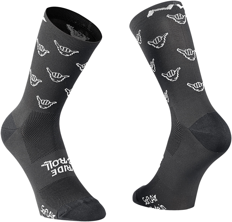 Northwave Femme Pearl Cyclisme Chaussettes Noir//Fuchsia 37-39 Medium NEUF