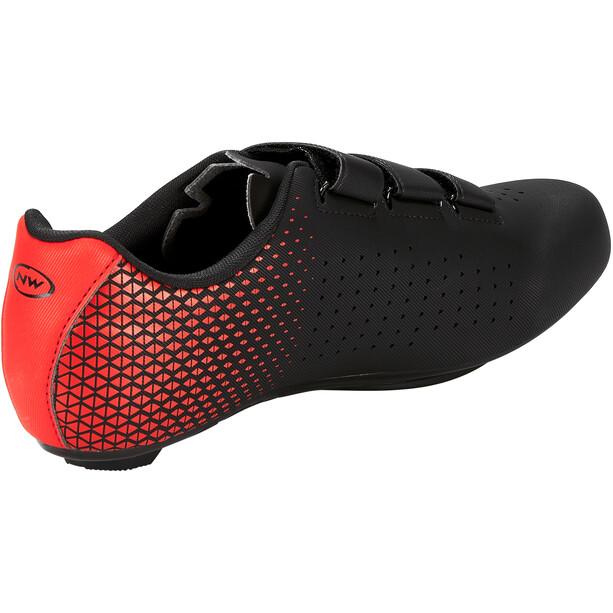 Northwave Core 2 Schuhe Herren schwarz/rot