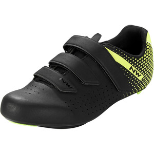 Northwave Core 2 Schuhe Herren schwarz/gelb schwarz/gelb