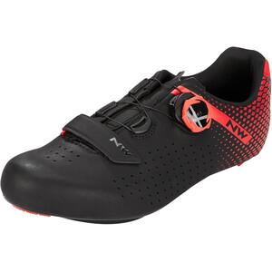 Northwave Core Plus 2 Schuhe Herren schwarz/rot schwarz/rot