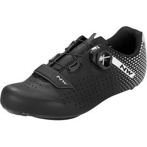 Northwave Core Plus 2 Wide Schuhe Herren schwarz/grau schwarz/grau
