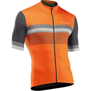 Northwave Origin Kortærmet Jersey Herrer, orange/grå orange/grå