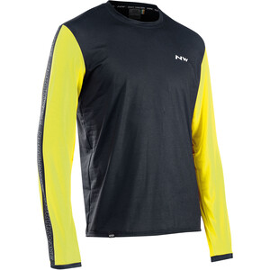 Northwave Xtrail Long Sleeve Jersey Men, noir/jaune noir/jaune