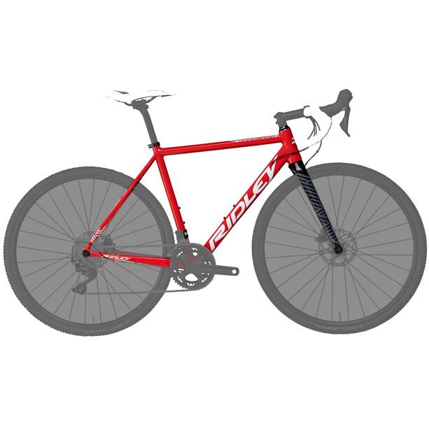 Ridley Bikes X-Ride Disc Rahmenset rot/schwarz