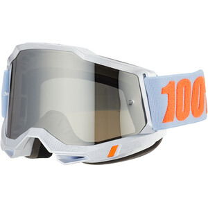 100% Accuri Anti-Fog beskyttelsesbriller Gen2, sølv sølv