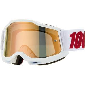 100% Accuri Anti-Fog Goggles Gen2 Youth, blanc blanc