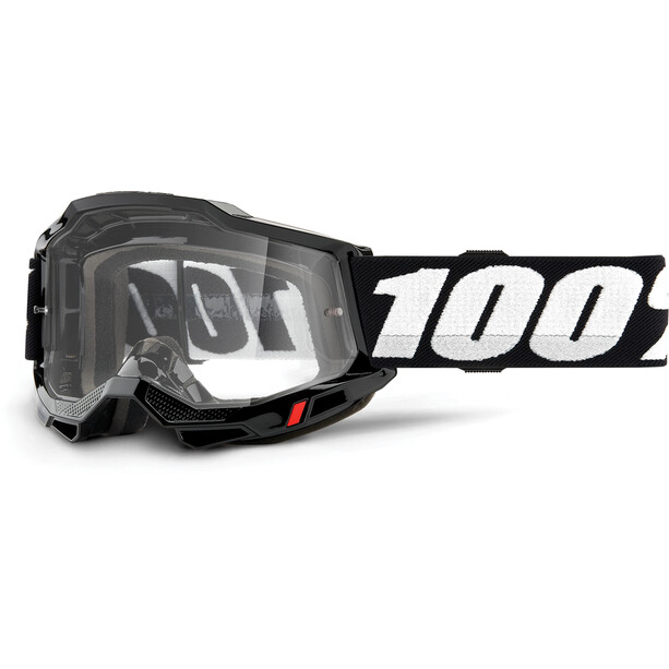 100% Accuri OTG Goggles Gen2 black/clear